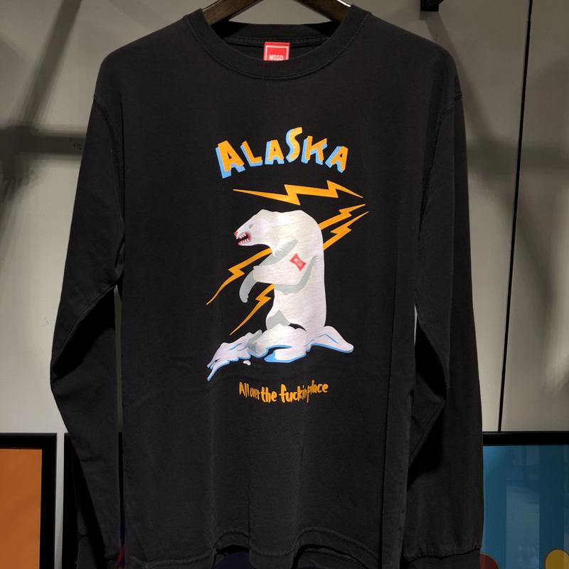 アラスカロンT ヴィンテージ BLACK