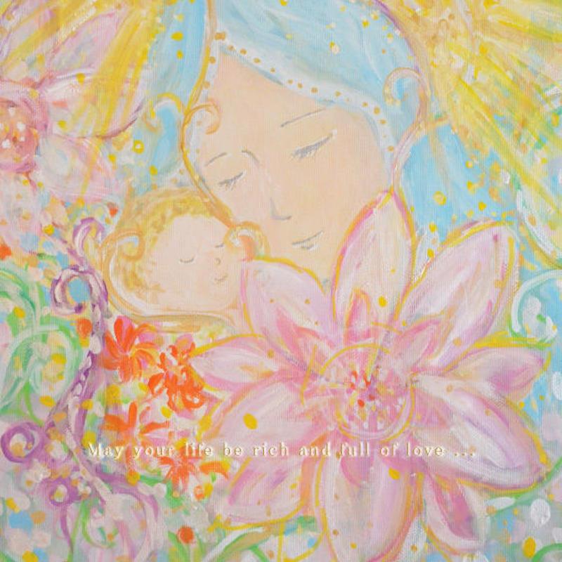 Virgin Mary Postcard /聖母マリアポストカード -子を抱くマリア-