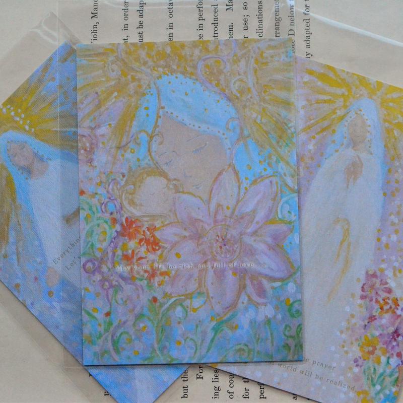 Virgin Mary Postcard /聖母マリアポストカード 3枚セット