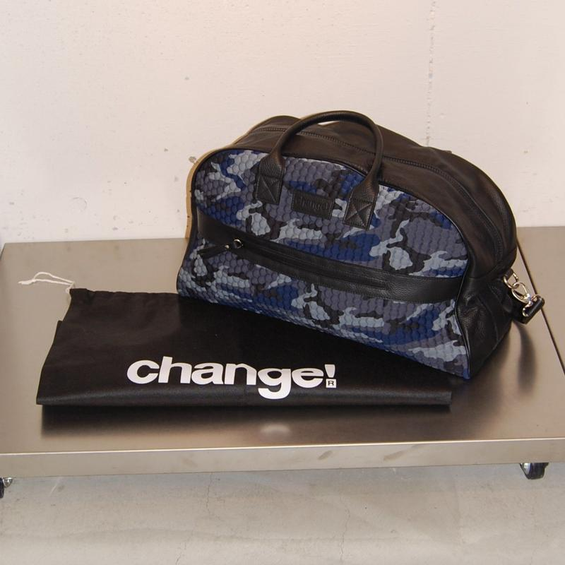 【Change!】ボストンバッグ ブルー系
