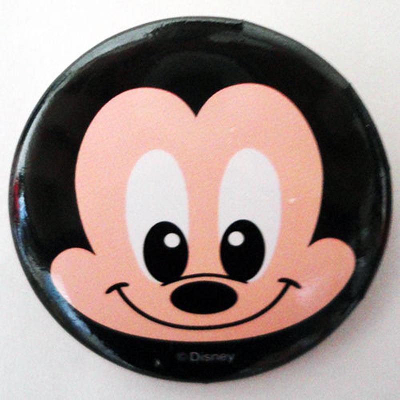 ミッキーマウス缶バッチ