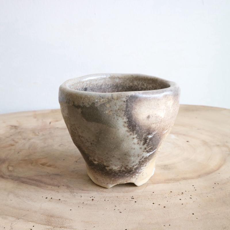 和田窯鉢  てびねり    no.051  φ8cm