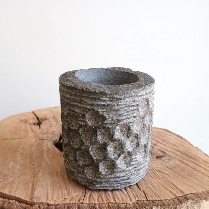 ノム爺の石鉢     no.008 φ8cm