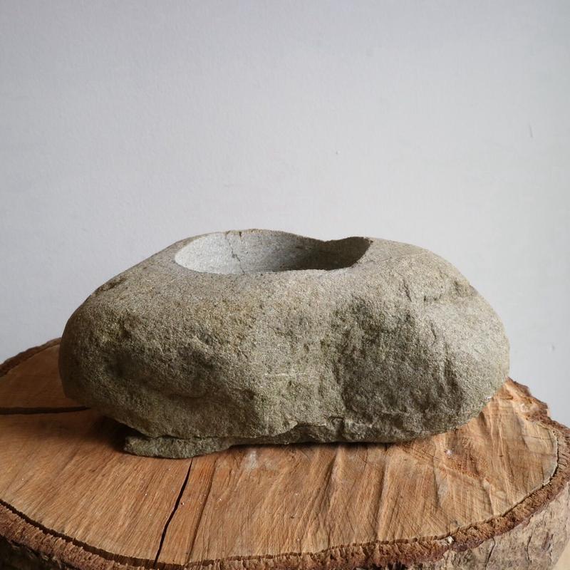 ノム爺の石鉢     no.016 φ16cm