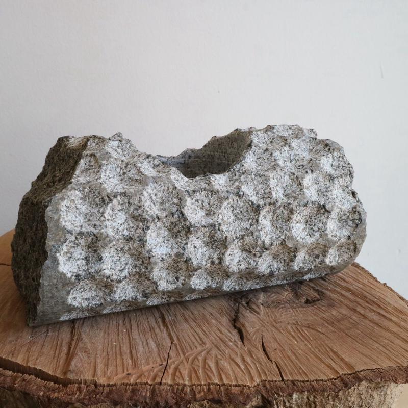 ノム爺の石鉢     no.010 φ17cm