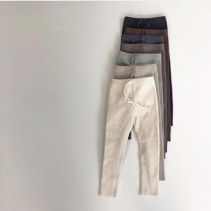 19SS  marvi rib leggings(junior)