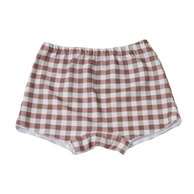 half pants/Brown