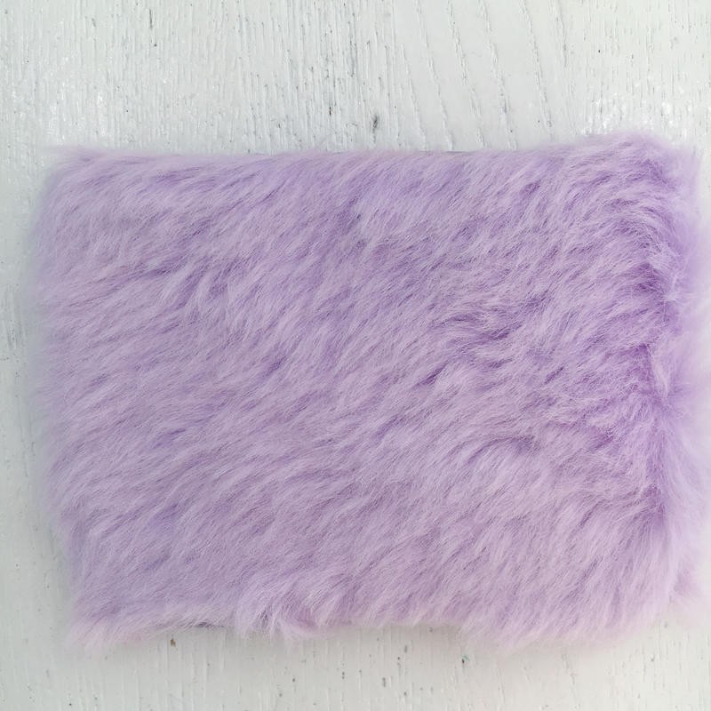 purple fur pass case