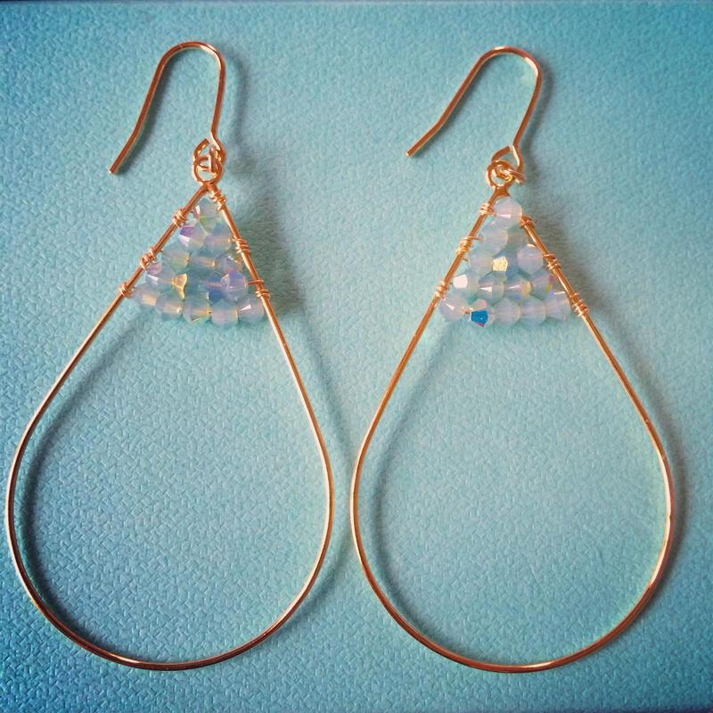 drop earrings...❤︎
