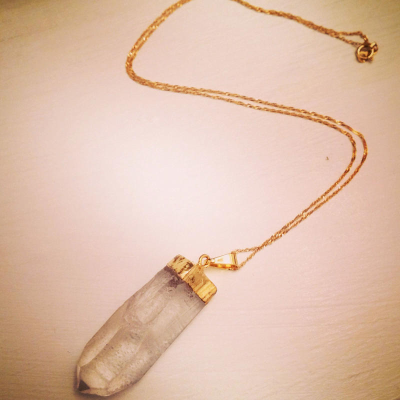 crystal pendant top