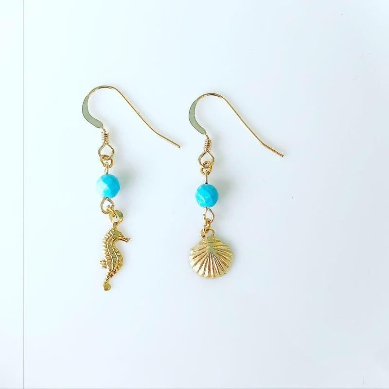 turquoise earrings...❤︎
