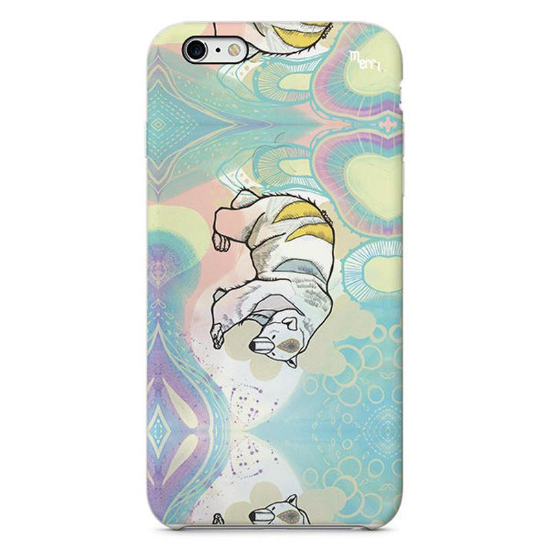 """Polar Bear"" シロクマ  iPhone スマホケース"