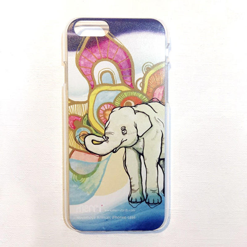 """Elephant"" ゾウ iPhone 6/6s case [ hard ]"