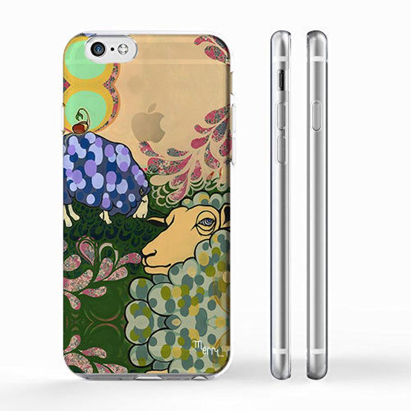 """ME"" ヒツジ (sheep)  iPhone6/6s case [ soft / hard ]"