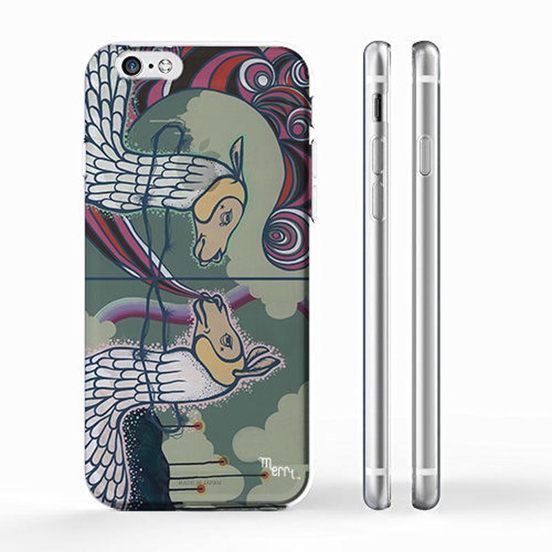 """""""UZU"""" ラマ iPhone case [ soft / hard ]"""