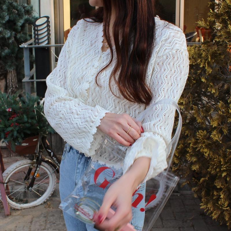Sunny Crochet Cardigan