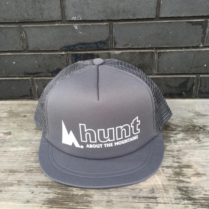 huntstored『OG LOGO』FLAT SHORT MESH CAP
