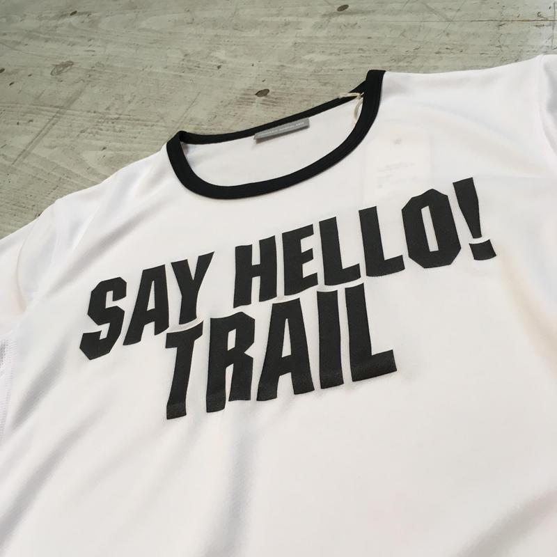 MMA『 Say Hello Trim Tee』(ホワイト)