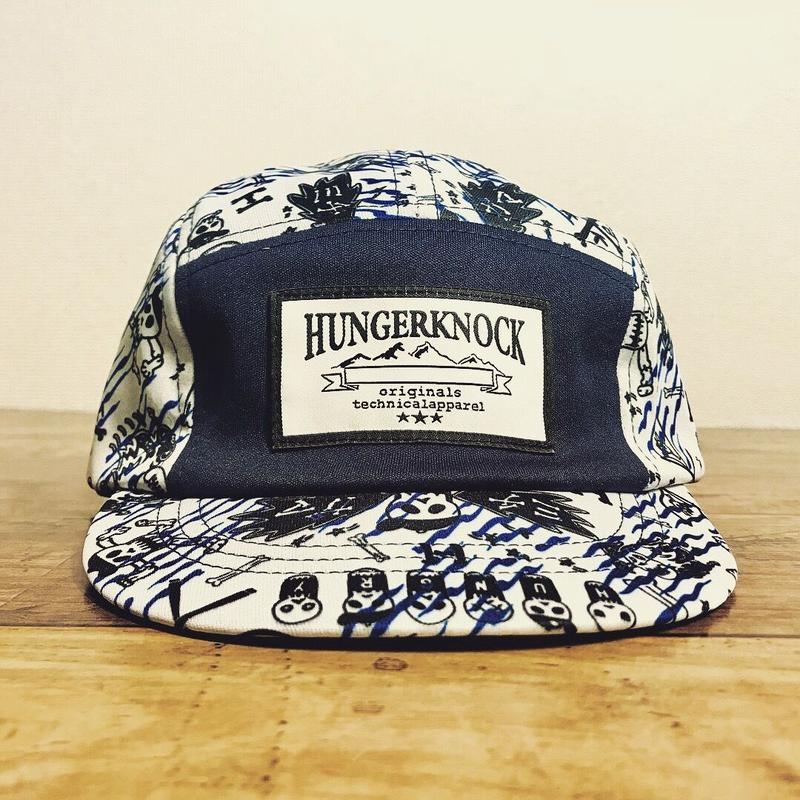 HUNGER KNOCK Originals『MICHIGAMA CRASH CAP 』