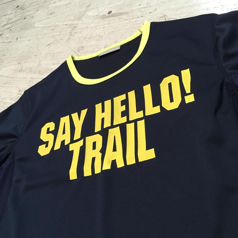 MMA『 Say Hello Trim Tee』(ネイビー)