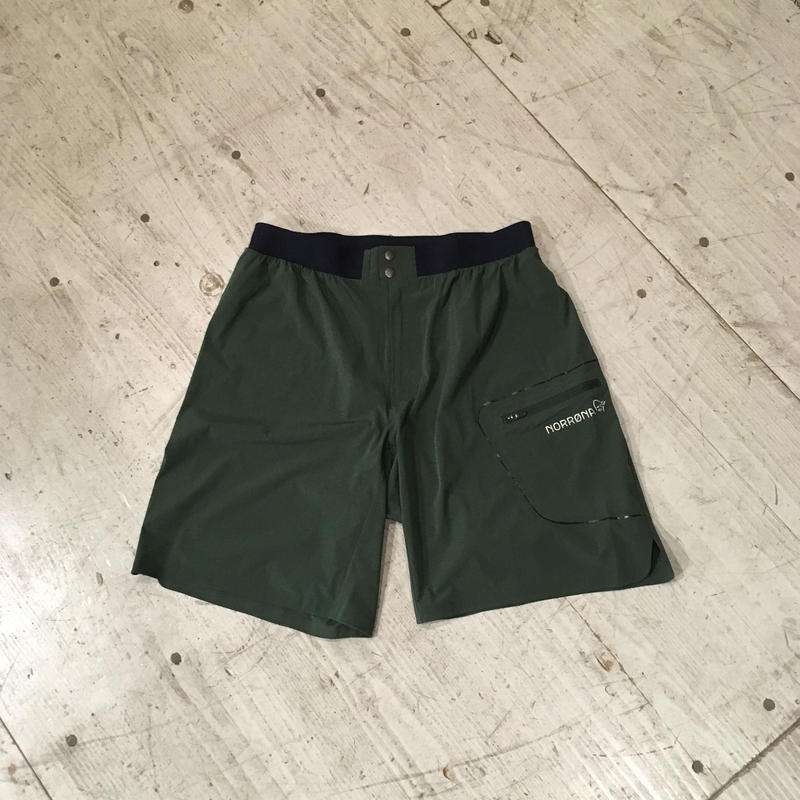 NORRONA『bitihorn trail running Shorts』(Jungle Green )