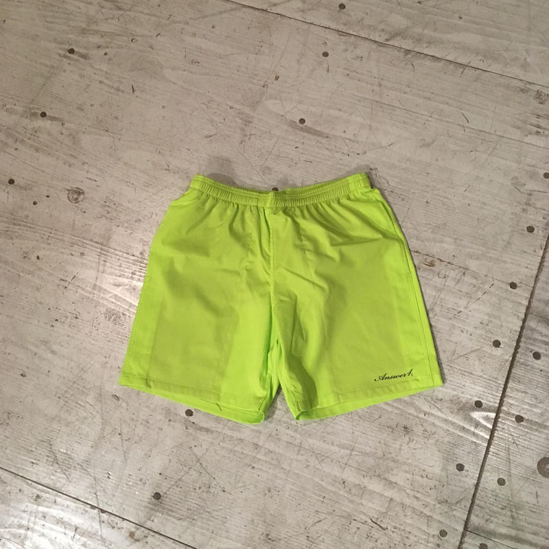ANSWER4 『3Pocket Short Pants』 (Acid Lime)