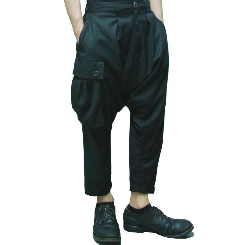 Asymmetric Sarrouel Pants