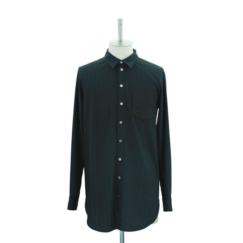 Shadow Stripe Long Shirt