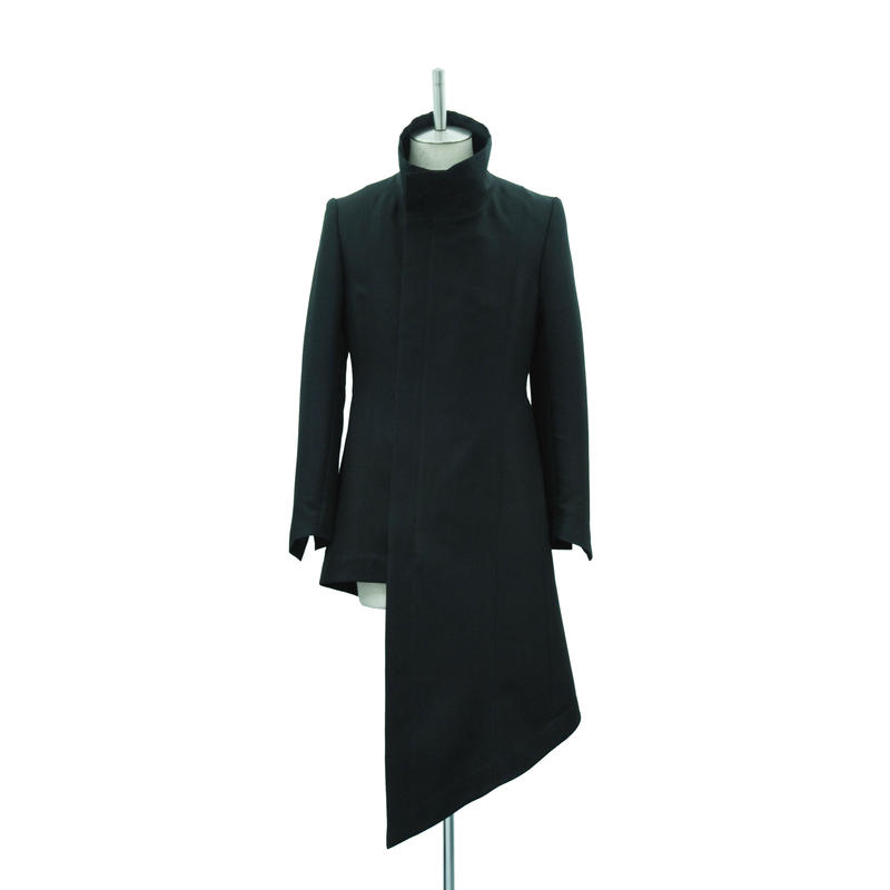 Asymmetry Long Jacket