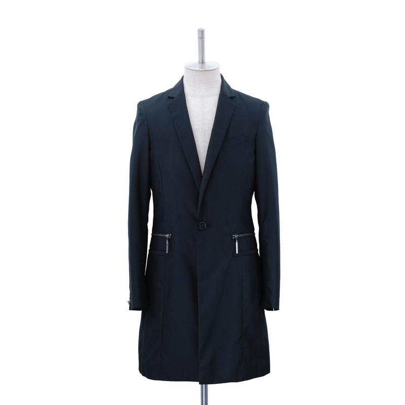 【Last1】T-Bar Cuffs Long Jacket