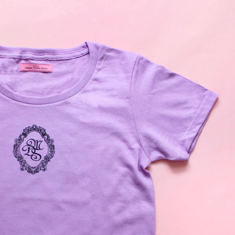 M.D.S T-shirt(Purple x Black)