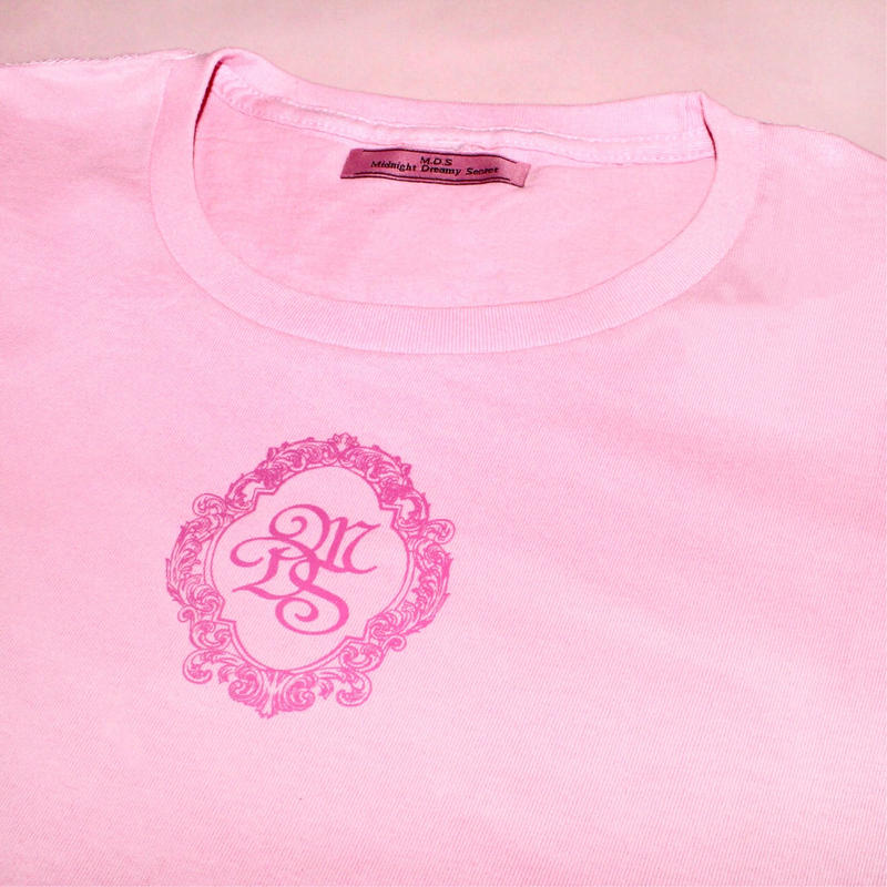 M.D.S T-shirt(Pink x Pink)タグなし