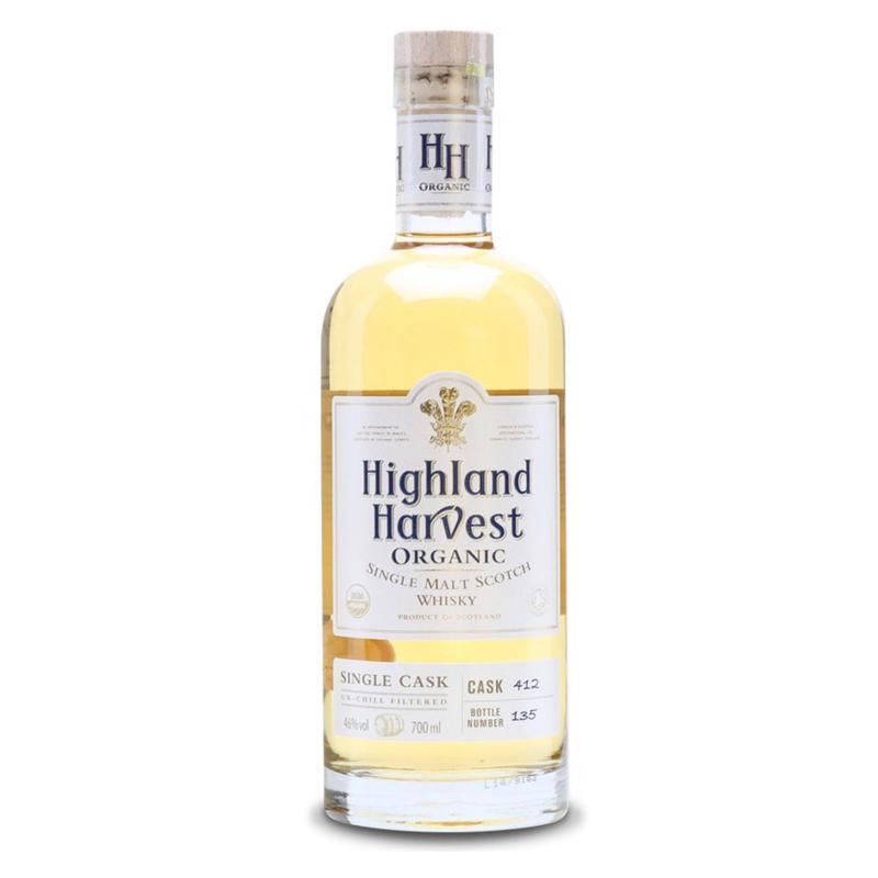 ORGANIC HIGHLAND HARVEST single malt whisky | オーガニックハイランドハーベストシングルモルトウイスキー