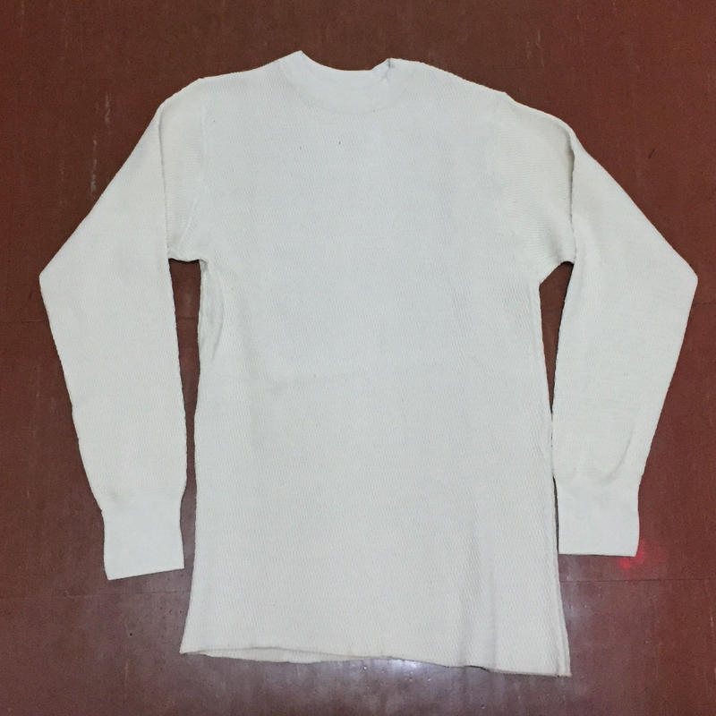 DEAD STOCK  U.S. MILITARY THERMAL SHIRT  size LARGE