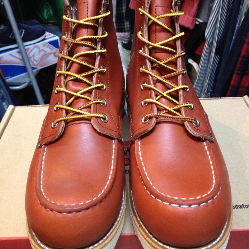 送料無料!! 【NEW】 RED WING 8131 6-inch BOOTS アイリッシュセッター