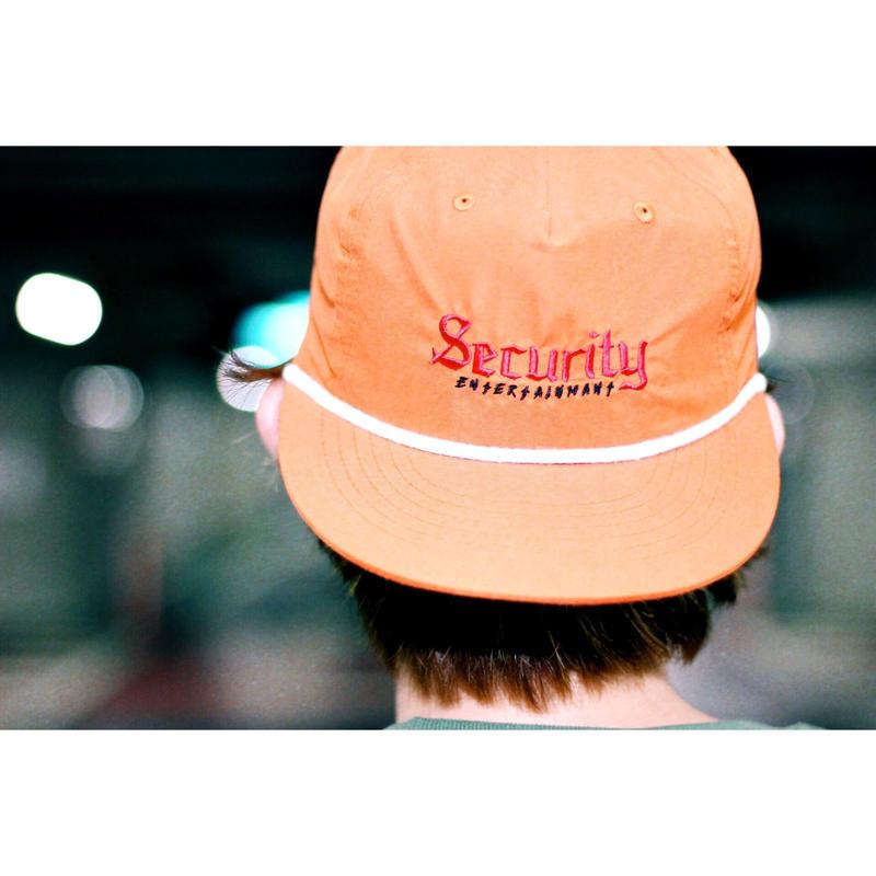 Logo snap back cap