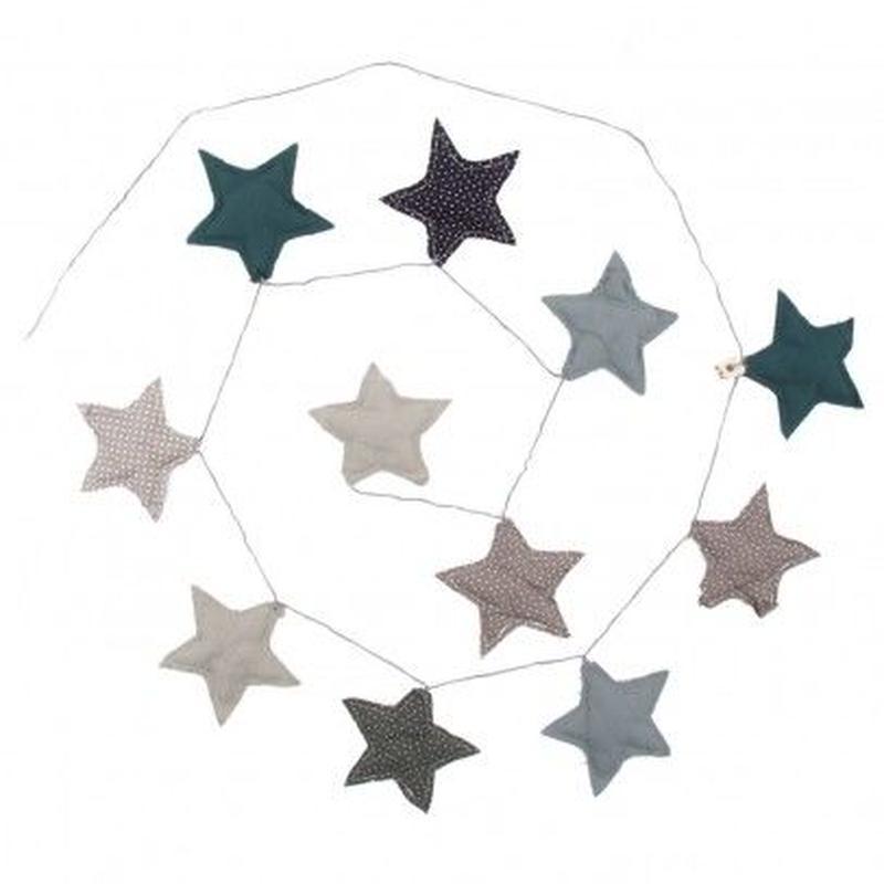 Numero74 Garland-Blue stars