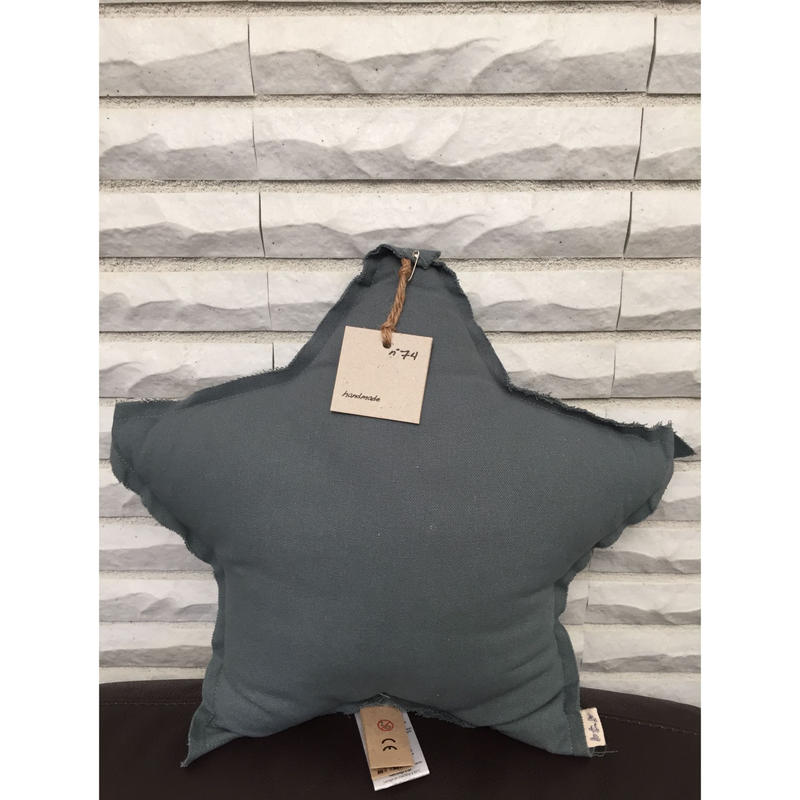 NUMERO74 Star Cushion-Ice blue