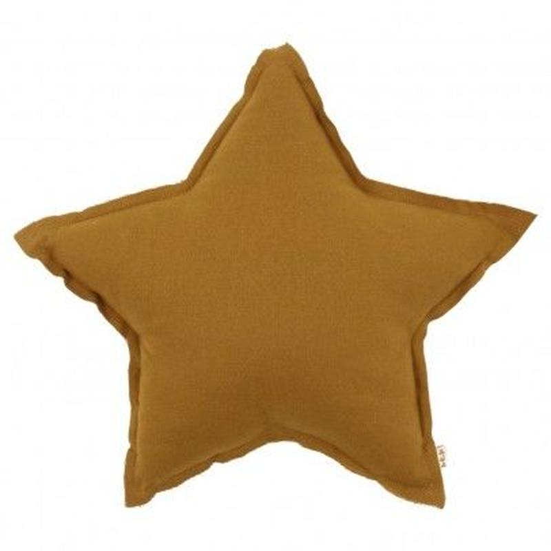 NUMERO74  Star cushion-Mustard