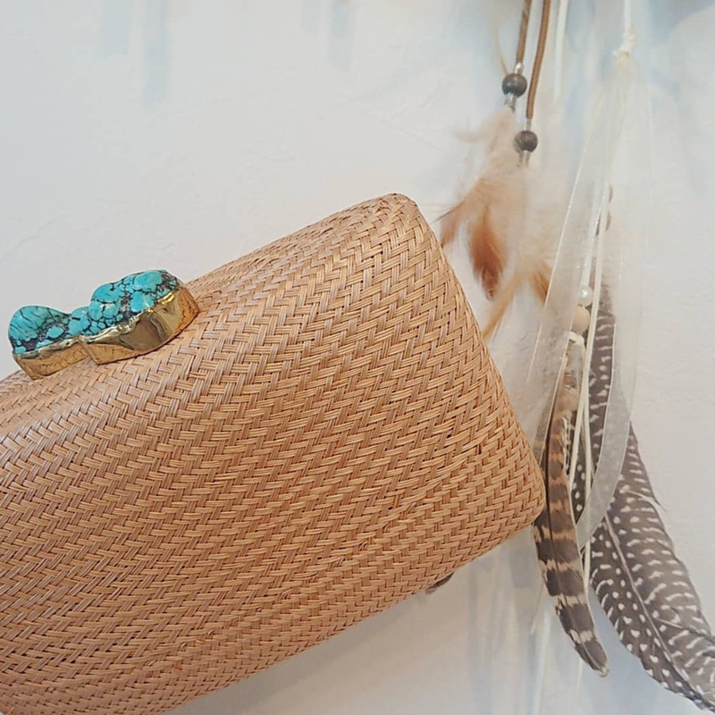 KAYU(カユ)/Bag Jen with Turquoise