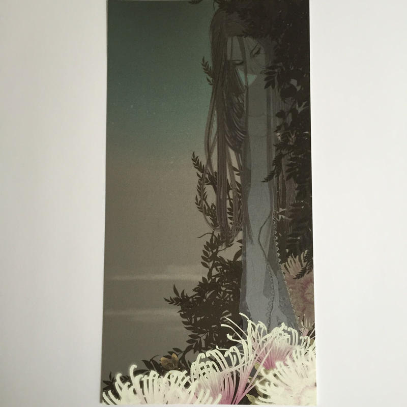 Large sized postcard・New moon