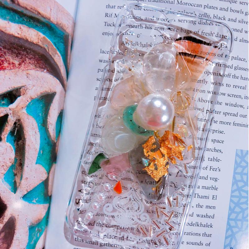 一点物 ≫ Handmade iPhone6,6s ,7★シーグラスケース-005