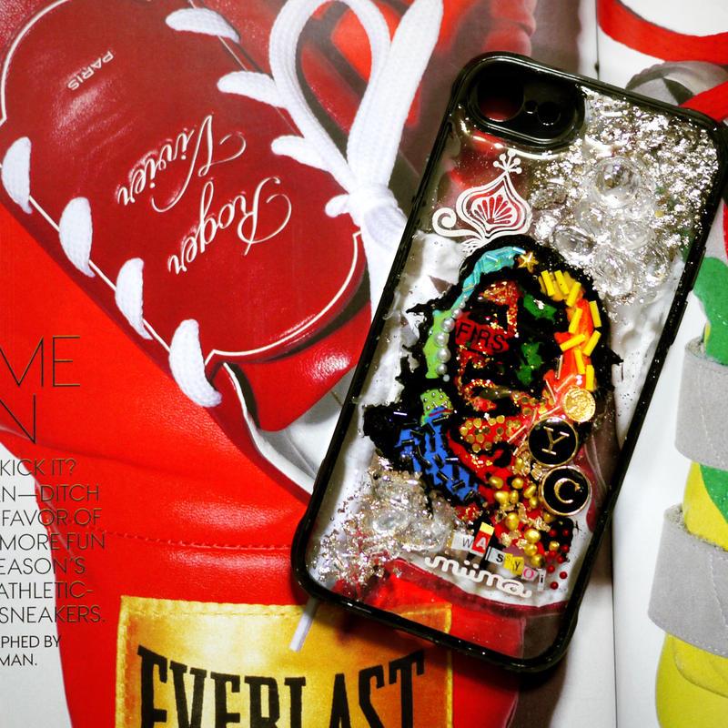 【偉人シリーズ☆001】Handmade SN Heart iPhone8/iPhone7 Case