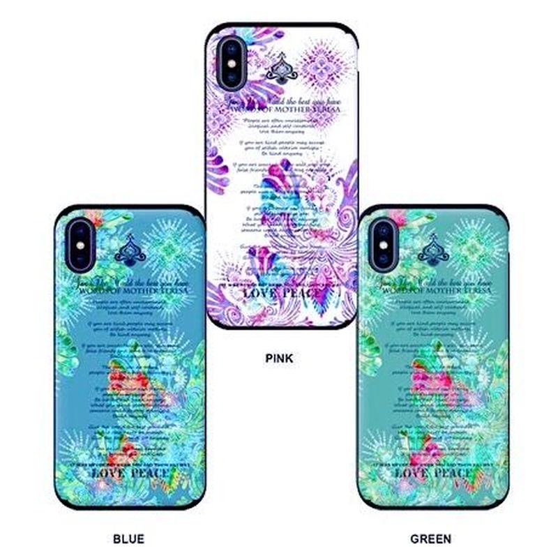 ≫  iPhoneケース★FLY-WORD OF MOTHERTERESA-3color