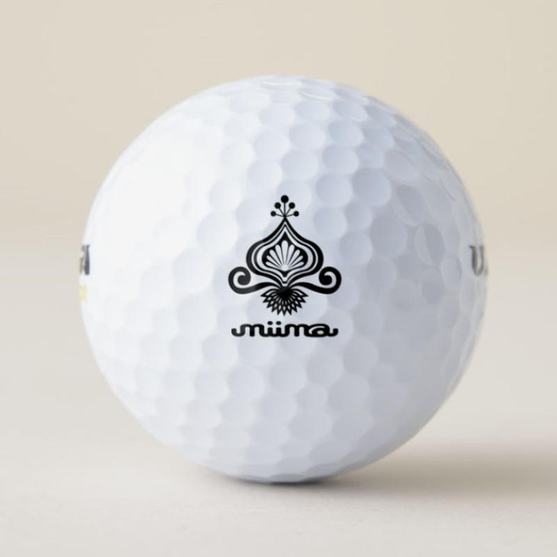 Golf ball /Wilson Ultra 500 Distance / Name custom