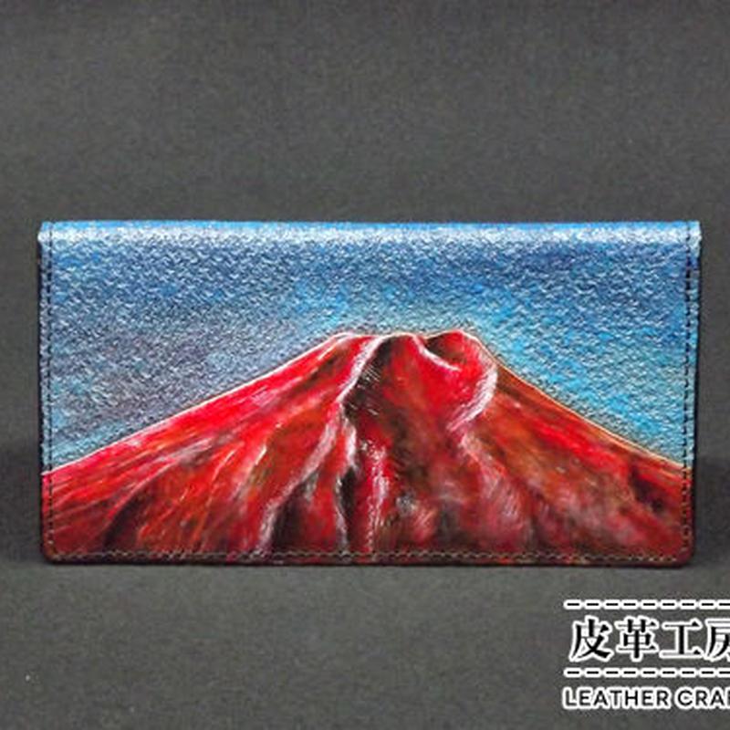 札入れ 赤富士【06SW-RMF】