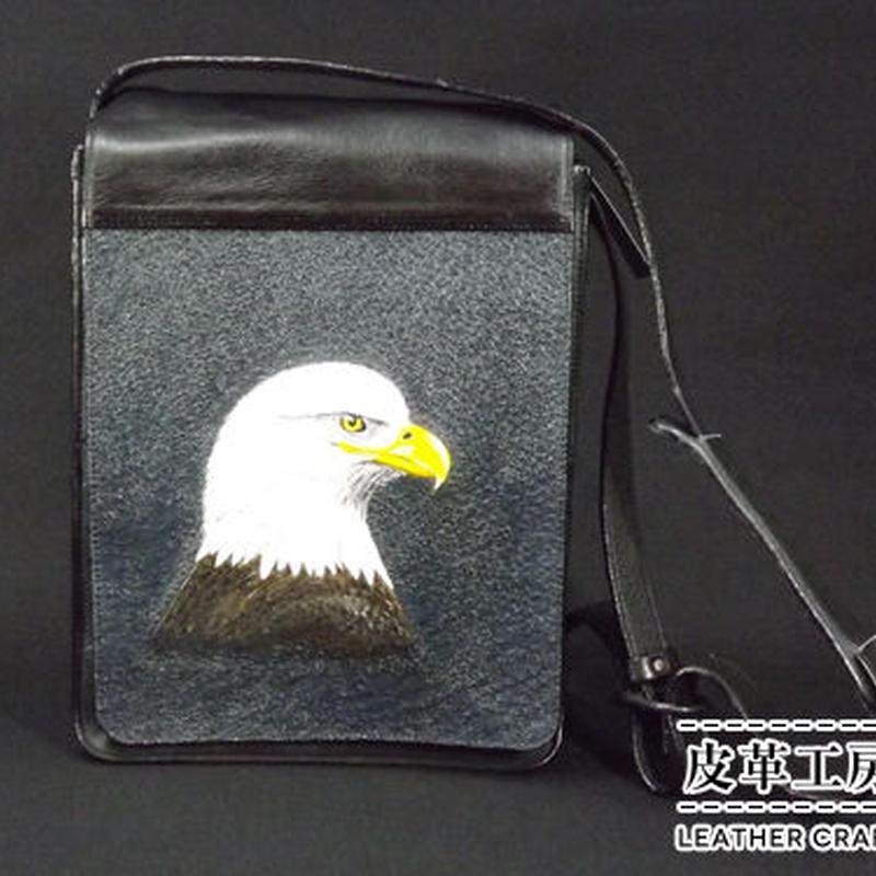 財布バッグ(大) 白頭ワシ【SB004】