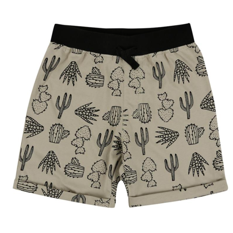【turtledove london】Easy Fit Shorts- Cactus Print