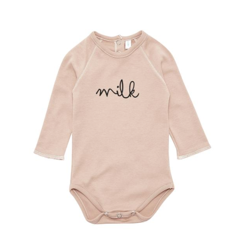 【organic zoo 】milk bodysuit cray