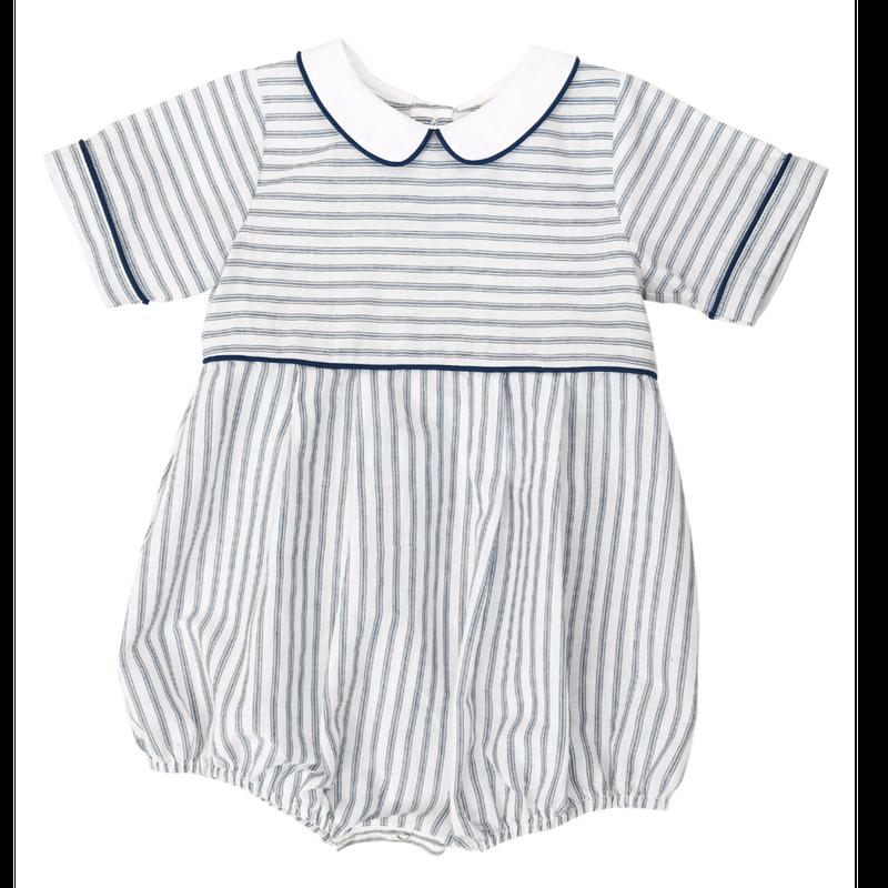 【little cotton clothes 】Romi romper blue